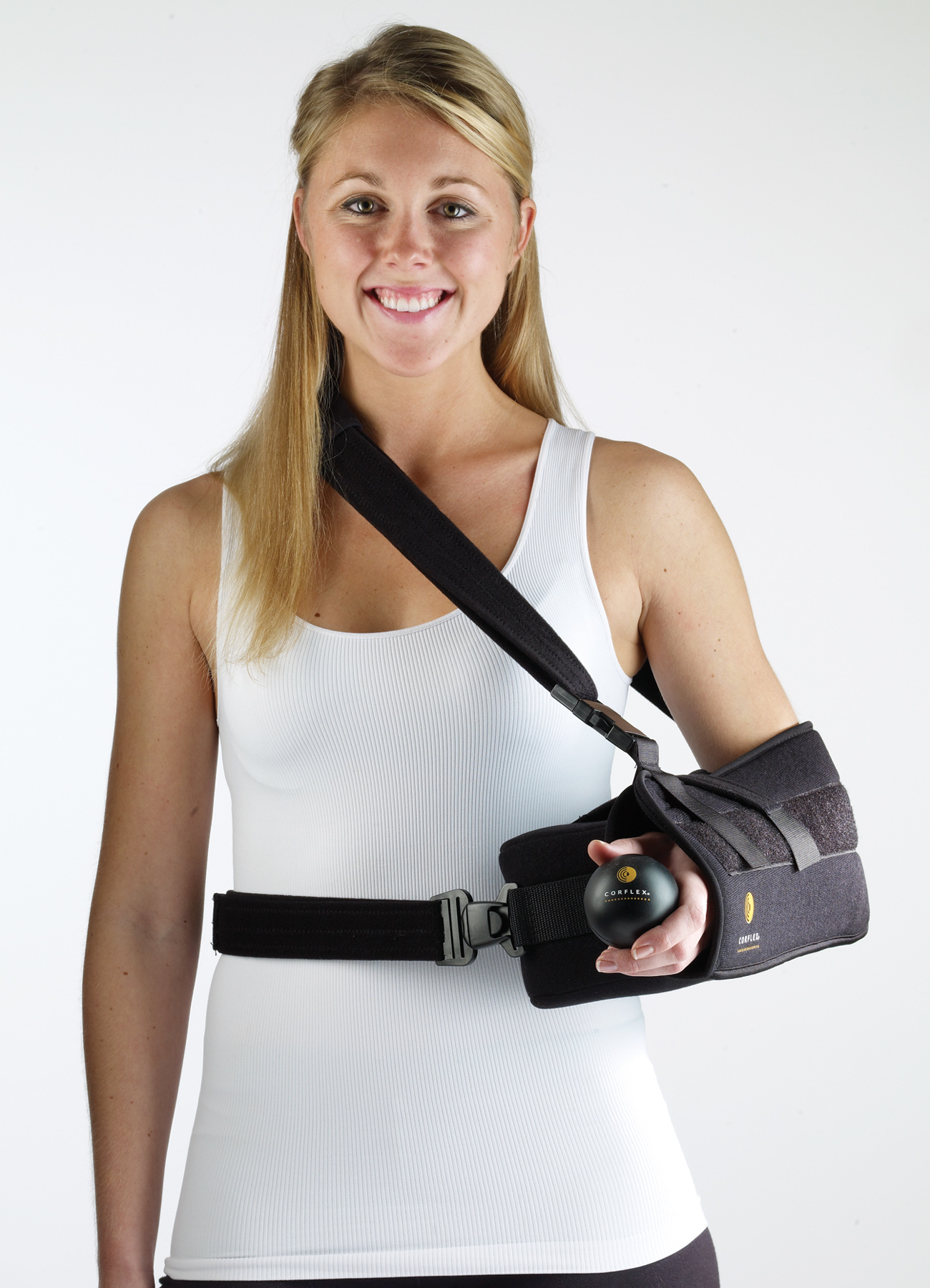 Corflex Inc Shoulder Abduction Pillow W Firm Fit Sling