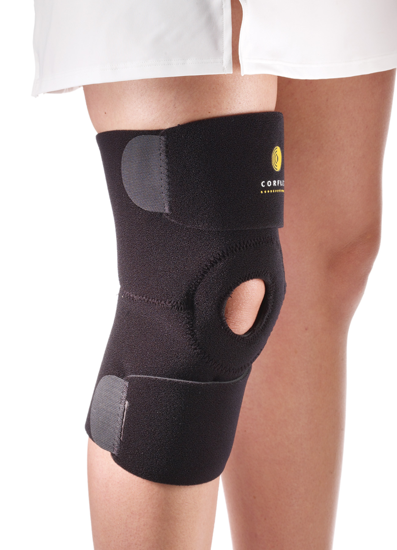 how to put on knee wraps