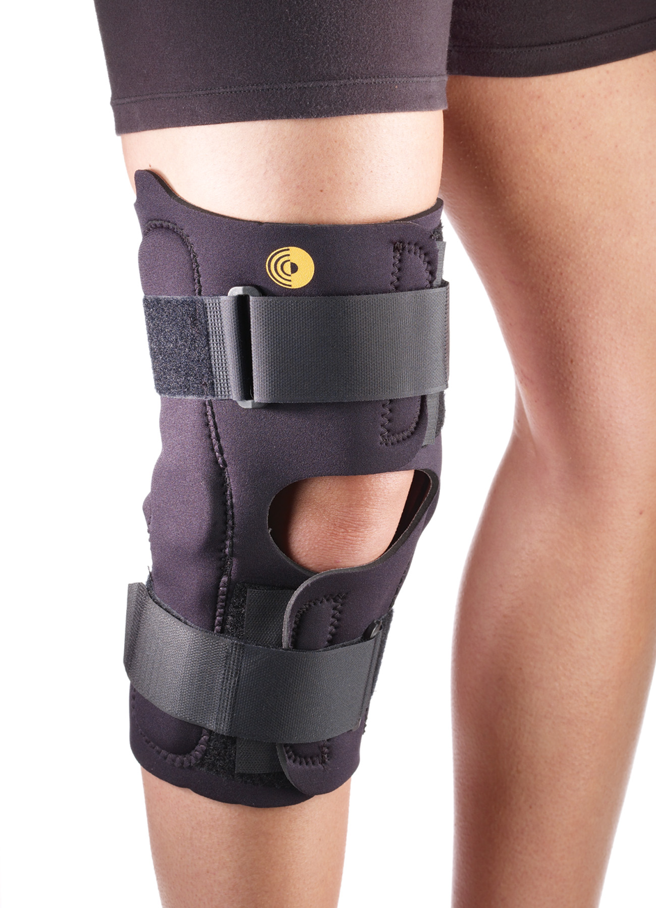 Anterior Closure Knee Wrap w/Hinge