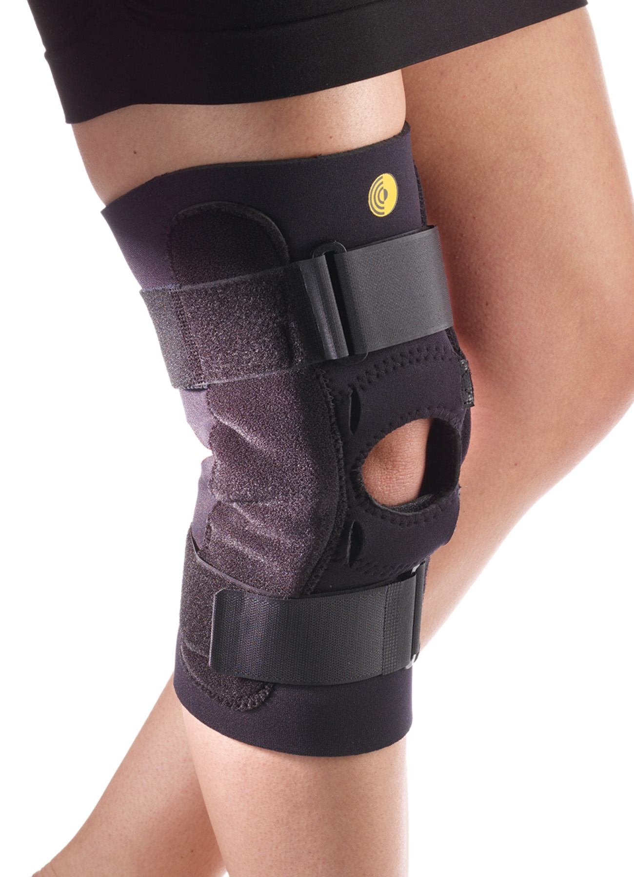 Kinetic Posterior Adj Knee Sleeve w/Cor-Trak Buttress & Hinge
