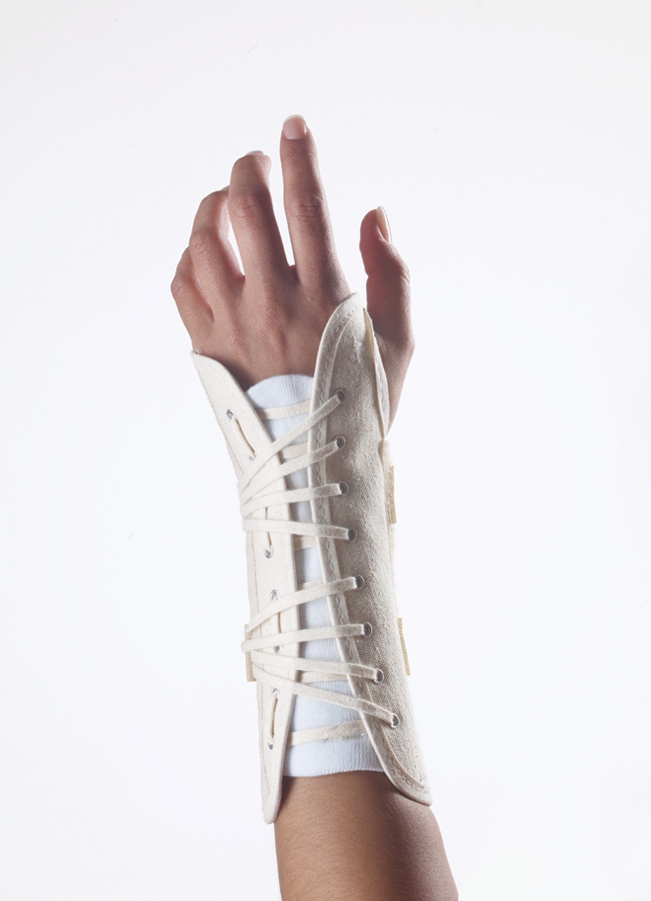 Canvas Wrist Lacer Splint