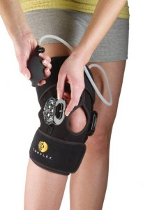 Cryo Pneumatic Knee Orthosis  w/R.O.M. Hinge