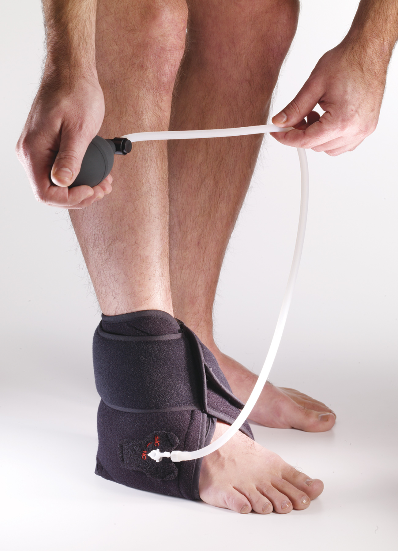 Cryo Pneumatic Ankle Wrap