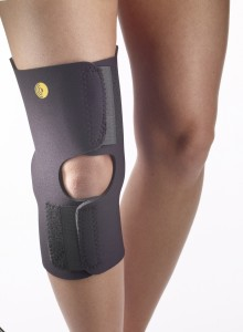 Anterior Closure Knee Wrap