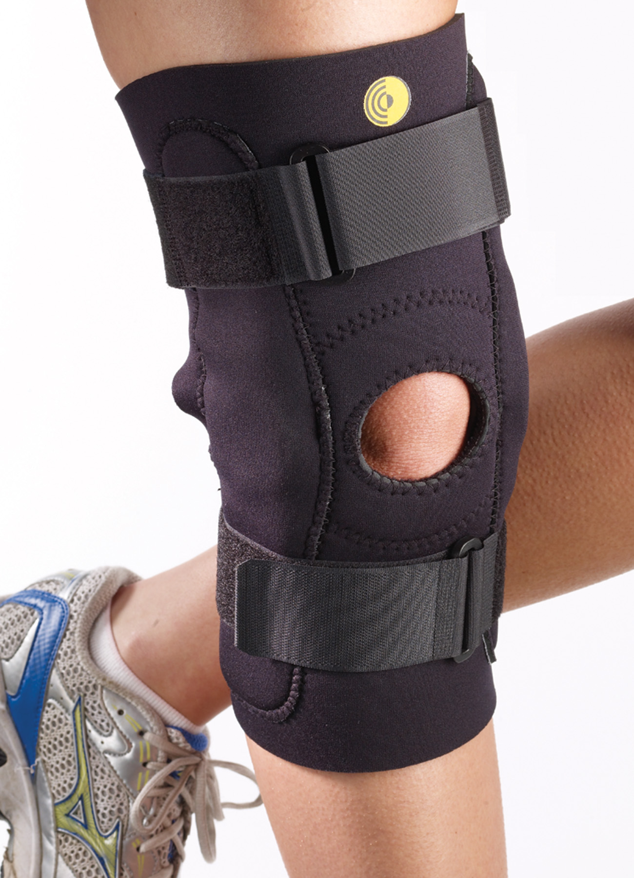 Posterior Adjustable Knee Sleeve w/Cor-Trak Buttress & Hinge