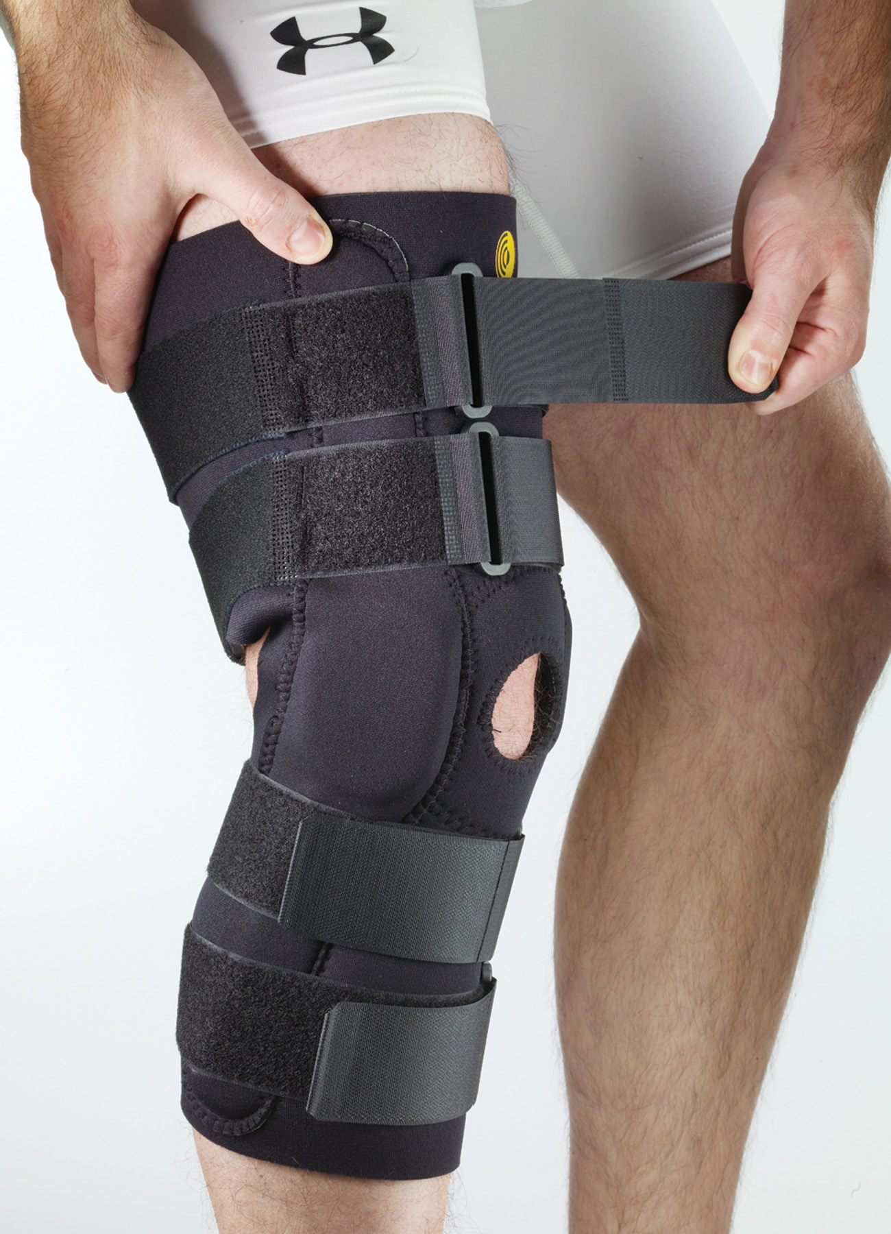 Posterior Adjustable Knee Sleeve w/R.O.M. Hinge