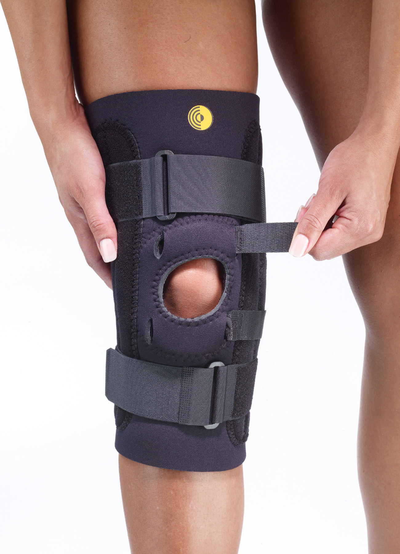 Kinetic Posterior Adjustable Knee Sleeve w/Cor-Trak Buttress